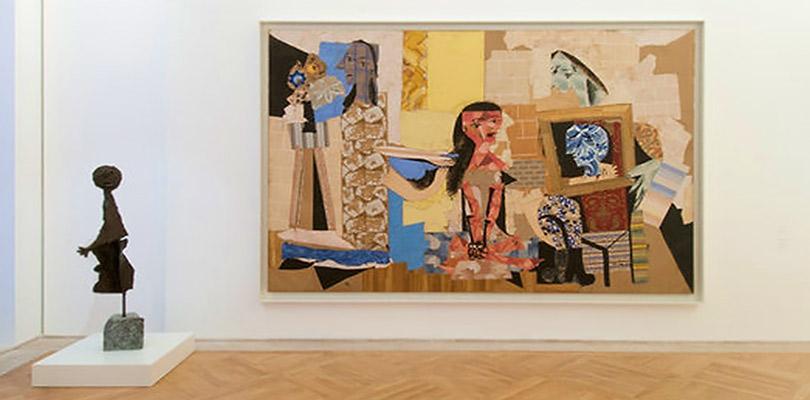 Пабло Пикассо. Женщины затуалетом, зал Музея Пикассо вПариже