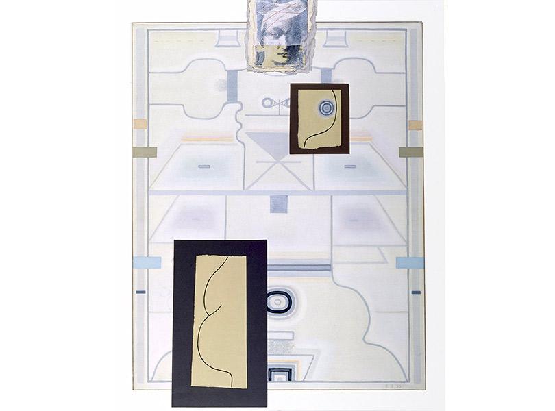 Изцикла «Женщина уморя». Посвящение Пьеро делла Франческе, III. 1999