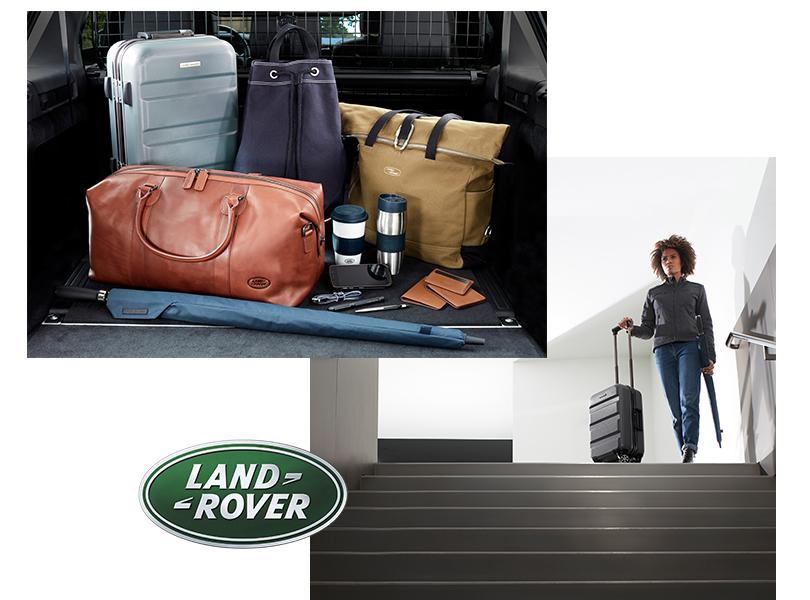 Самые красивые чемоданы и другой багаж из lifestyle-коллекции: Land Rover
