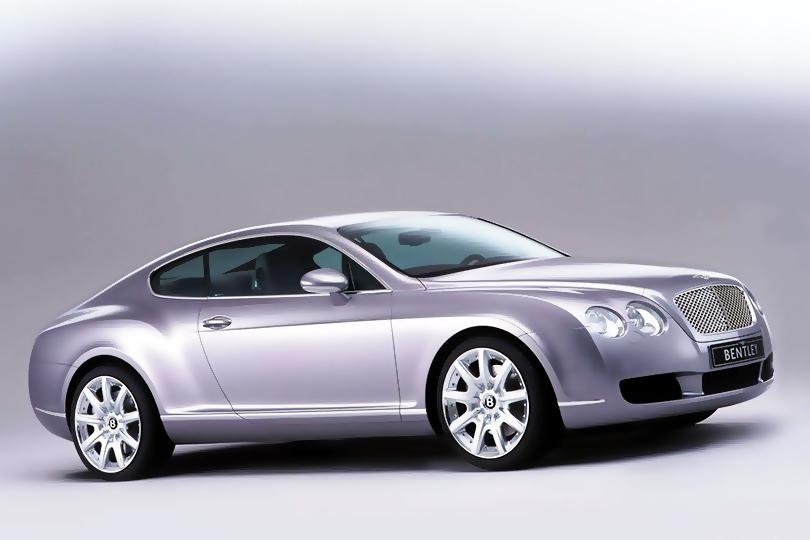 Машины Харви Спектера: Bentley Continental GT