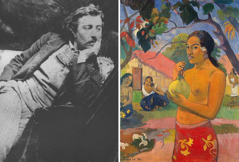 Французский импрессионист  Поль Гоген на Таити