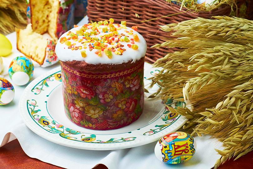 Перепелиные яйца иклассические куличи в«Сыроварне»