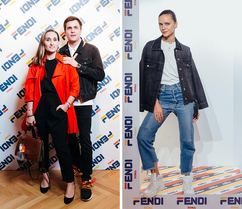 Вечеринке Fendi Mania вГУМе