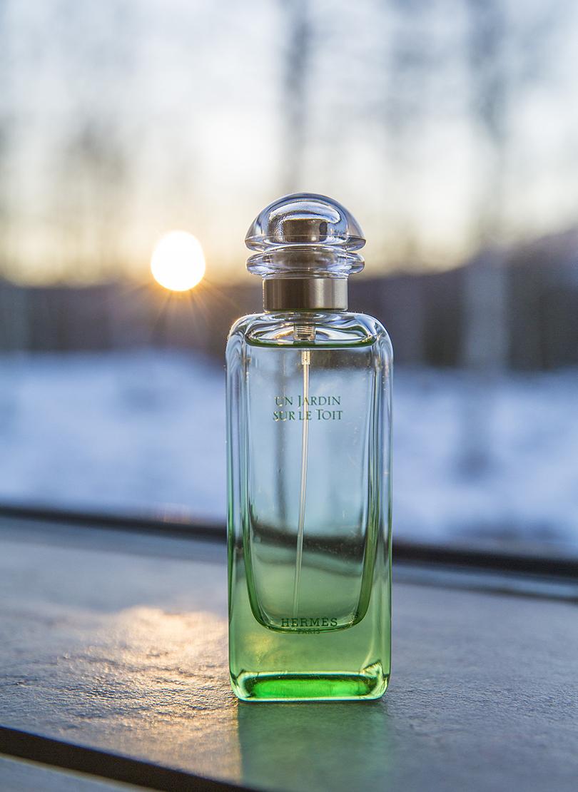 BeautyShopping: под зеленым флагом— 6бьюти-средств модного оттенка. Аромат UnJardin sur leToit отHermes