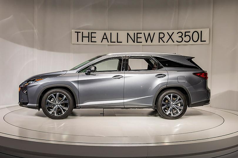 Авто сЯном Коомансом: что нового наАвтосалоне вЛос-Анджелесе? Lexus RX350L