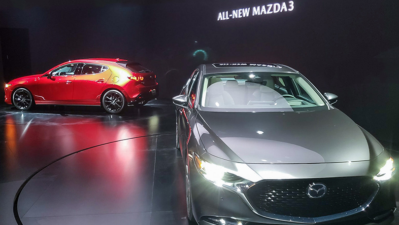 Cars with Jan Coomans. The five most interesting stands at the Los Angeles Auto Show. Mazda