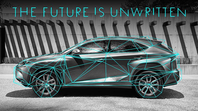 «Будущее еще ненаписано»— слоган седьмого эпизода Lexus Hybrid Art