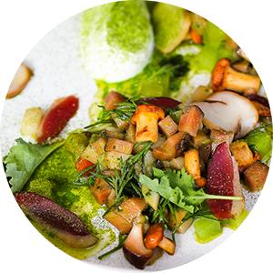 Погрибы: сезон лисичек вмосковских ресторанах. Mushrooms