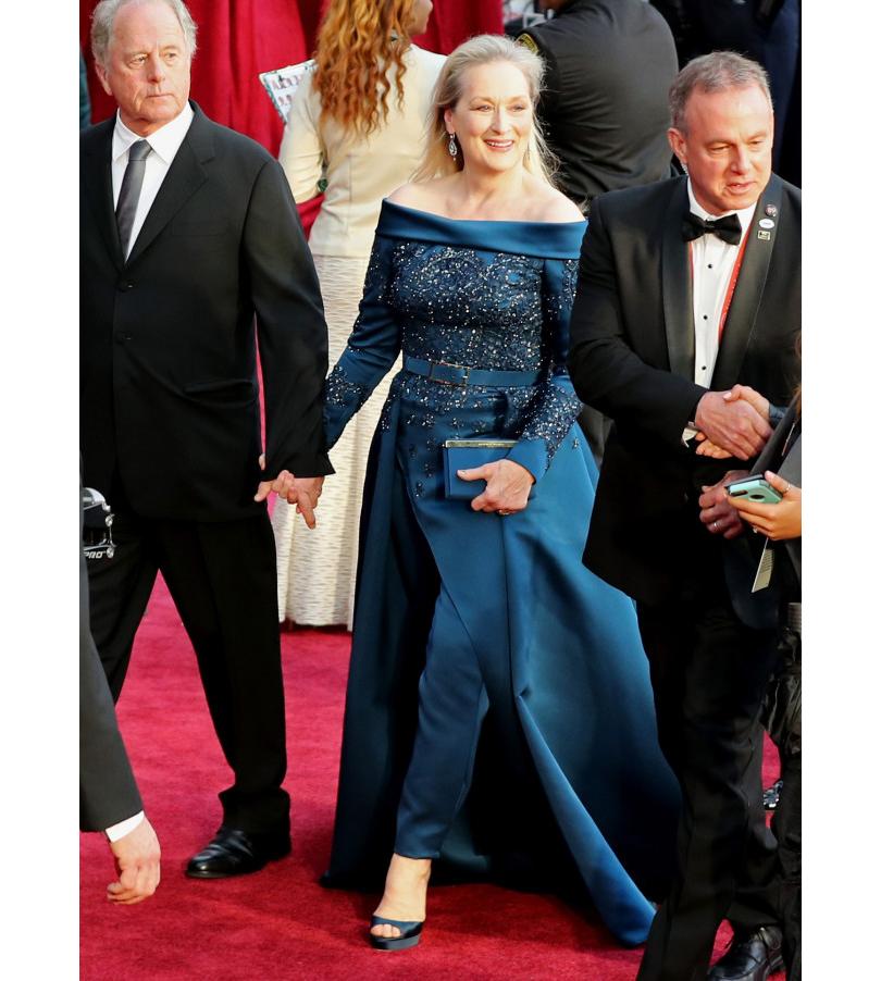 Oscars Special 2017: образы звезд на красной ковровой дорожке церемонии «Оскар». Мерил Стрип в Elie Saab Haute Couture