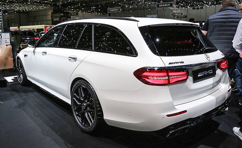 Cars with Jan Coomans: new at the 2017 Geneva Motor Show. Mercedes-Benz AMG E63 Wagon