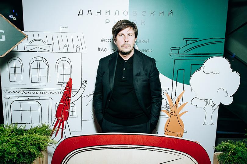 Открытие обновленного пространства Даниловского рынка: Андрей Фомин