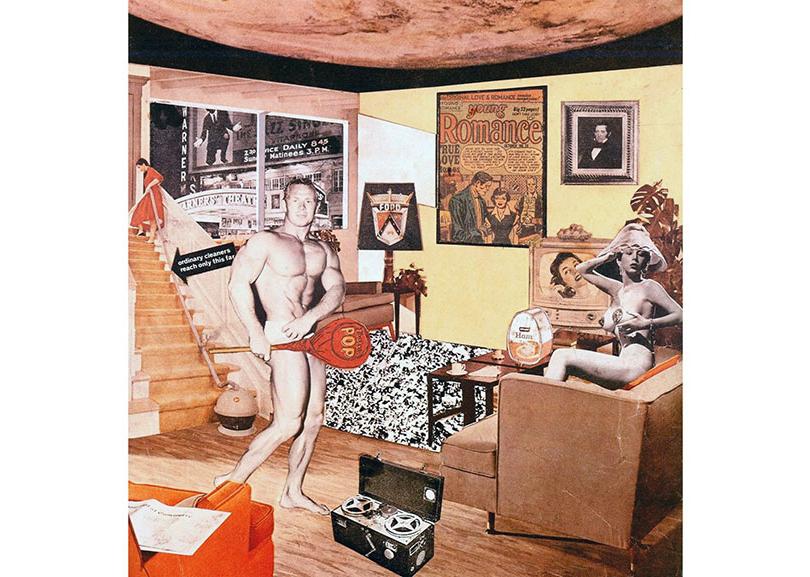 Ричард Гамильтон— «Так чтоже делает наши сегодняшние дома такими разными, такими привлекательными?», 1956