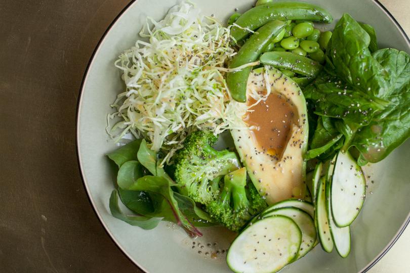 Remy Kitchen Bakery, зеленый салат
