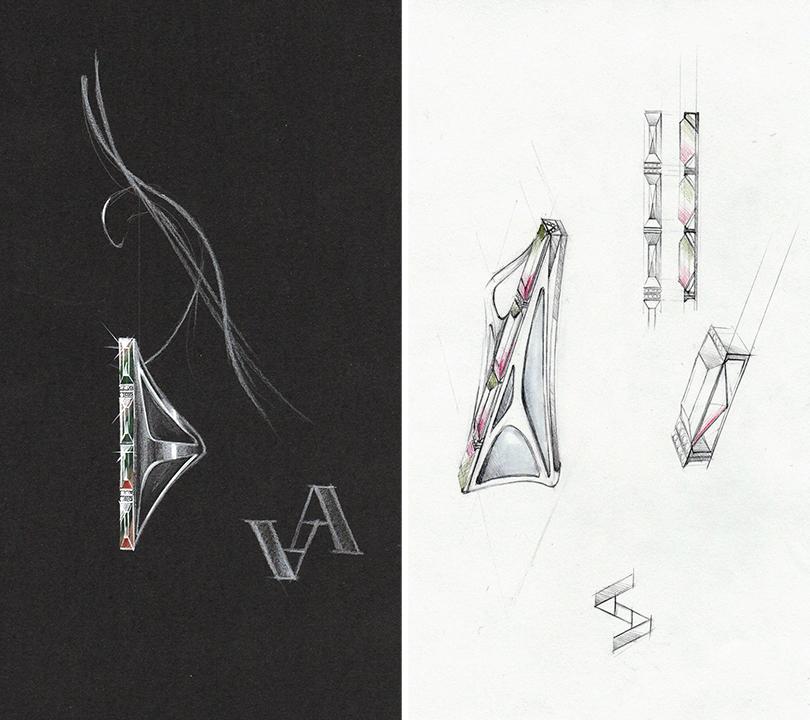 Style Notes: космическая одиссея. Новая коллекция украшений Volha Jewelry