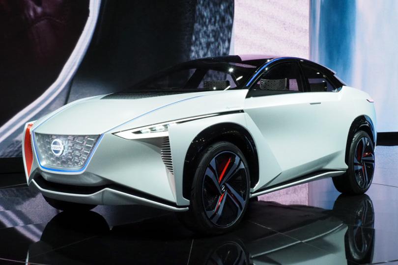 Авто сЯном Коомансом. Токийский автосалон: самые свежие новости сродины Годзиллы. Nissan IMx