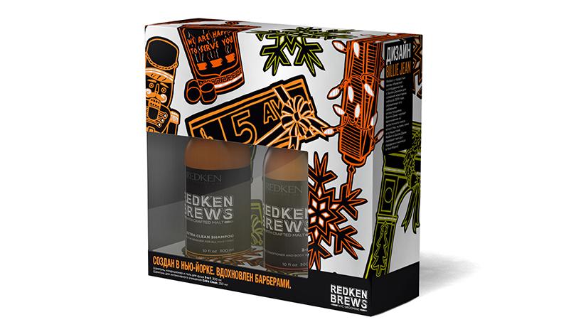 Подарочный набор, Redken Brews