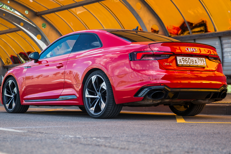 Cars with Jan Coomans. Audi RS5 review: a new direction