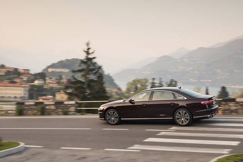 Cars with Jan Coomans. The new AudiA8: probably smarter than you