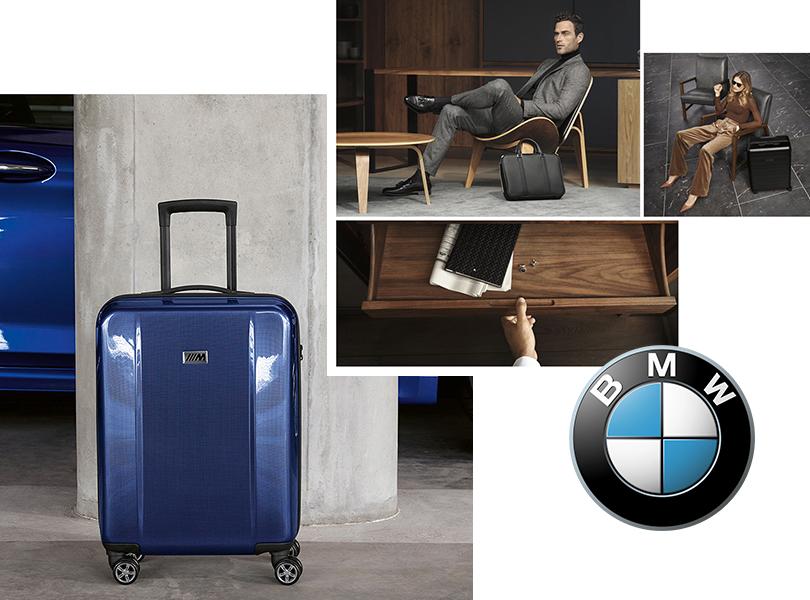 Самые красивые чемоданы и другой багаж из lifestyle-коллекции: BMW
