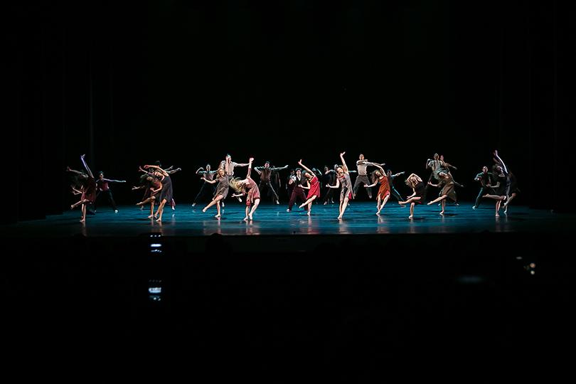 Балет: гала-закрытие «Context. Диана Вишнева» вСанкт-Петербурге. Introdans
