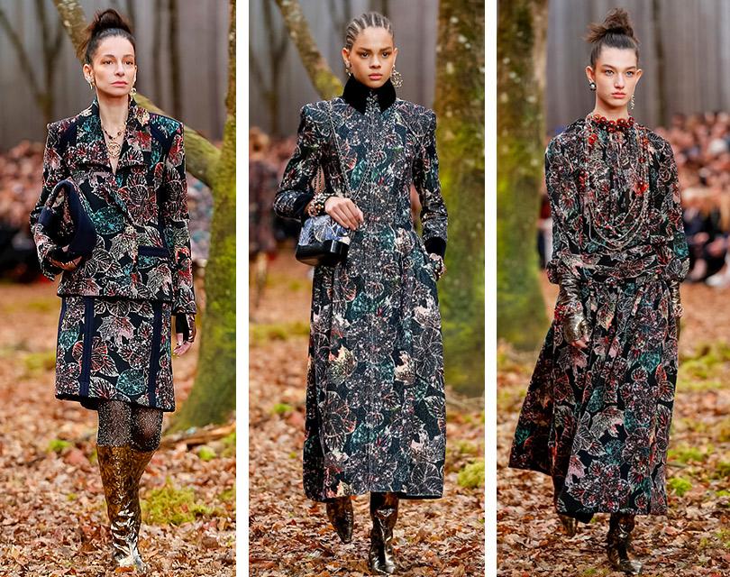 Зачарованный лес иего обитатели напоказе Chanel