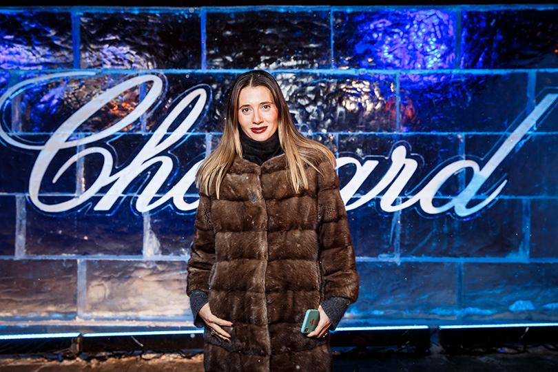 Татьяна Навка представила авторский дизайн часов Chopard Happy Sport. Яна Лапутина