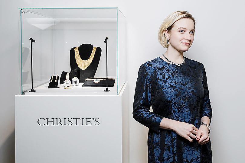 Закрытый показ ювелирных украшений Christie's: Екатерина Долинина