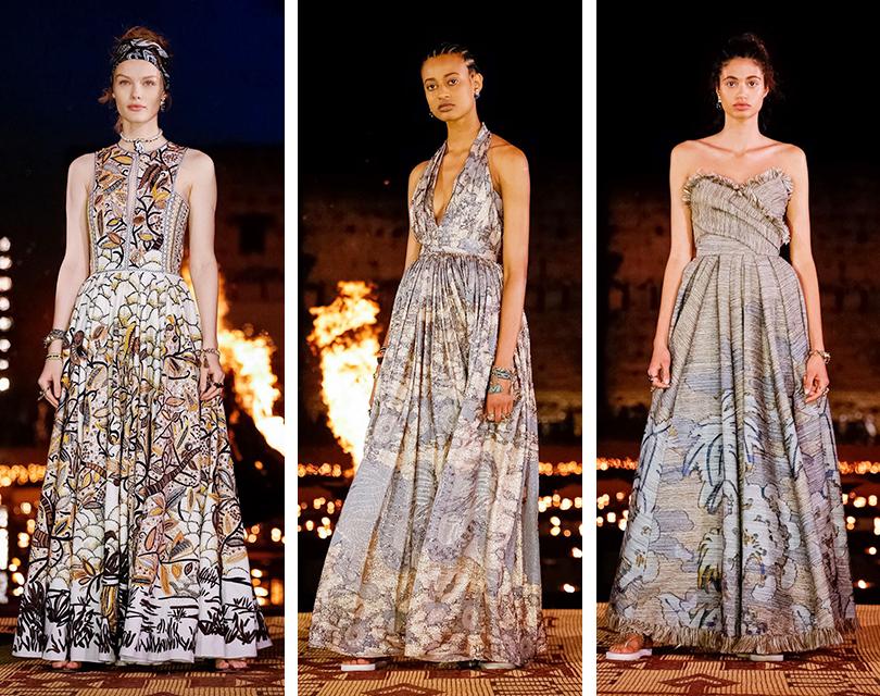 Показ круизной коллекции Dior в Марокко