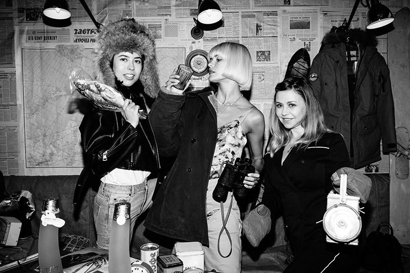 Столичные знаменитости отпраздновали День полярника вресторане «Техникум». Анна Ивченко, Инга Берман иМария Перлич