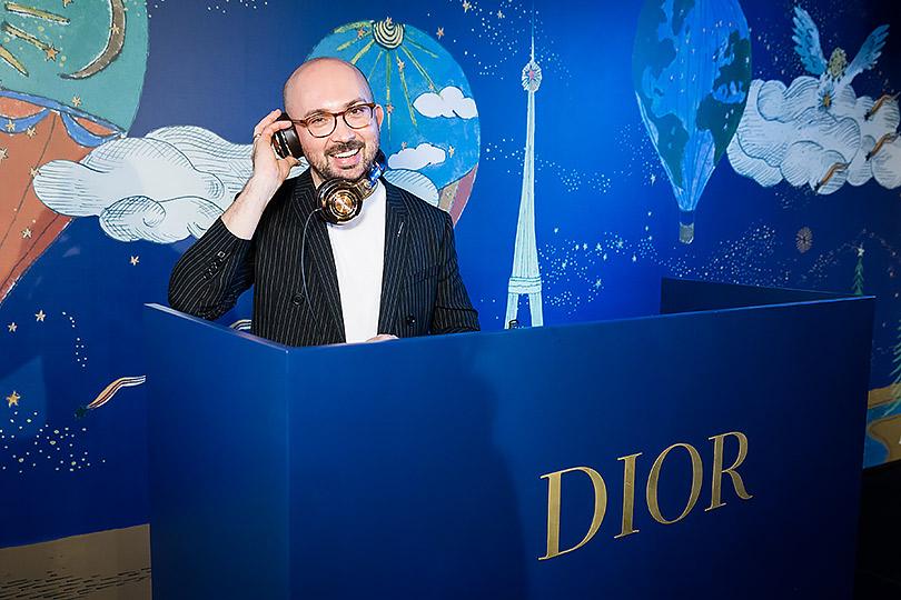 Светская Москва наоткрытии трех корнеров Dior вЦУМе. Виталий Козак