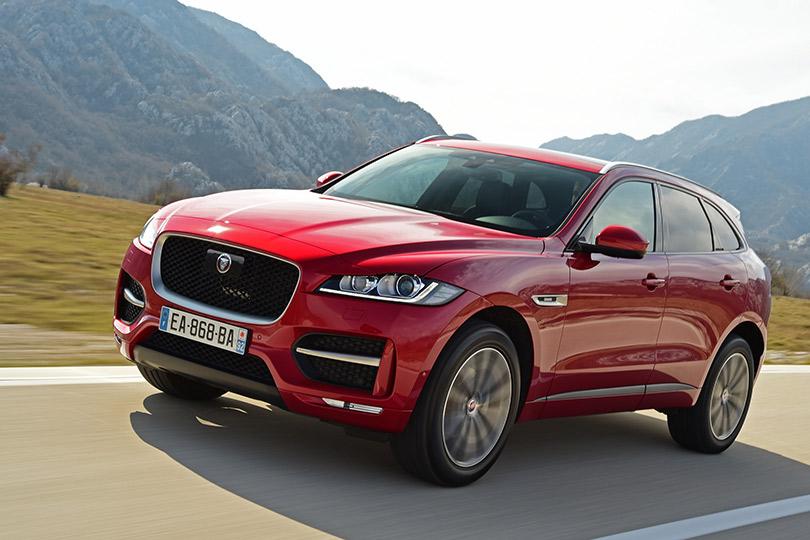 Авто вбольшом городе. 1-я часть: Jaguar F-Pace— отдизайна додвигателя