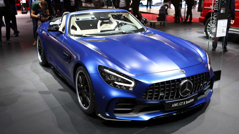 Cars with Jan Coomans. Geneva International Motor Show 2019. Mercedes-Benz AMG GT R