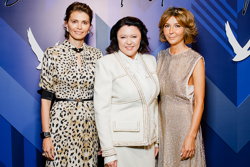 Анна Брострем, Марина Жигалова-Озкан и Виктория Полякова