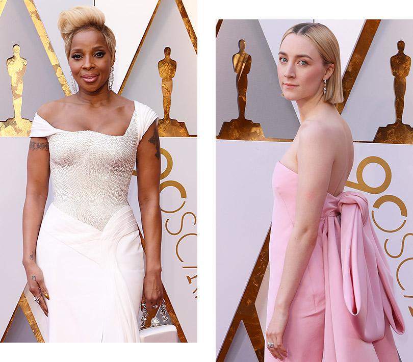 Часы &Караты: роскошные украшения церемонии «Оскар». Мэри Джей Блайдж. Сирша Ронан