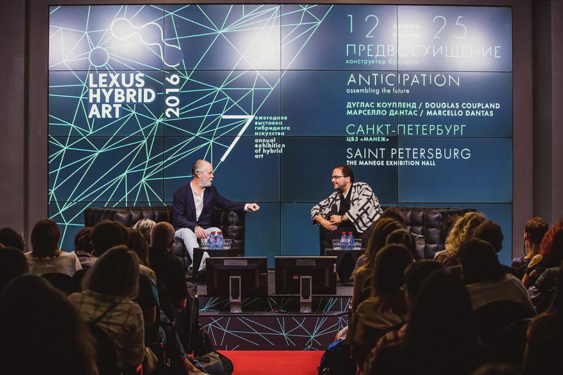 Public talk впреддверии выставки: Дуглас Коупленд иМарселло Дантас