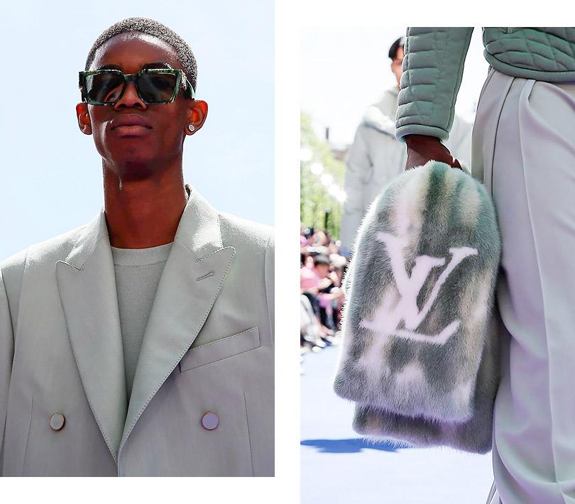 Дебютный мужской показ Вирджила Абло для Louis Vuitton