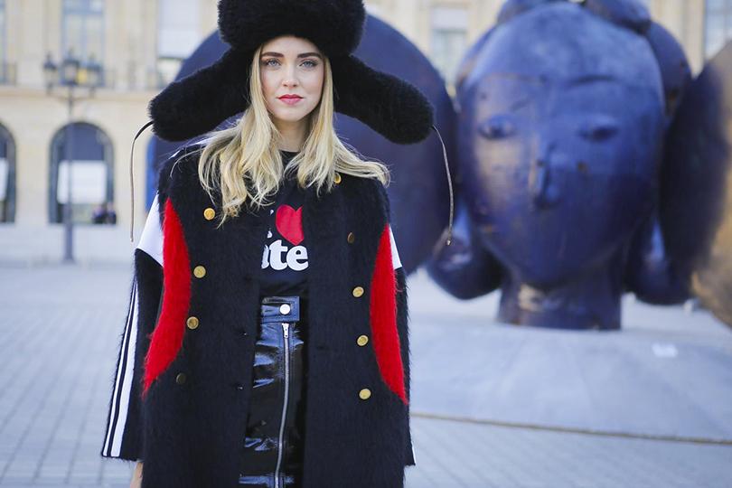 Style Notes: показ Louis Vuitton на Неделе моды в Париже. Кьяра Ферраньи
