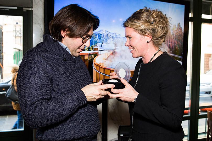 Встреча друзей Oetker Collection в«Берёзка Bistrot». Андрей Малахов и Наталья Боброва