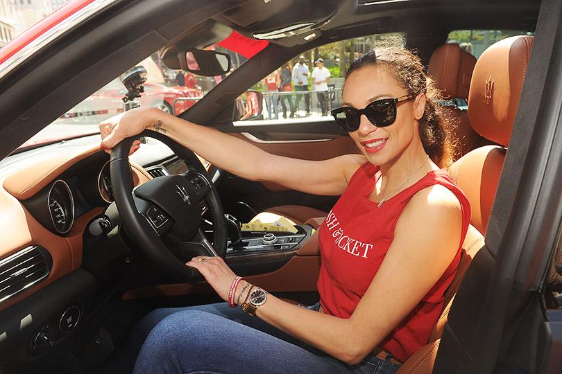 Зарулем внедорожников Maserati наавтопробеге Cash &Rocket Tour 2018. Лилли Беккер