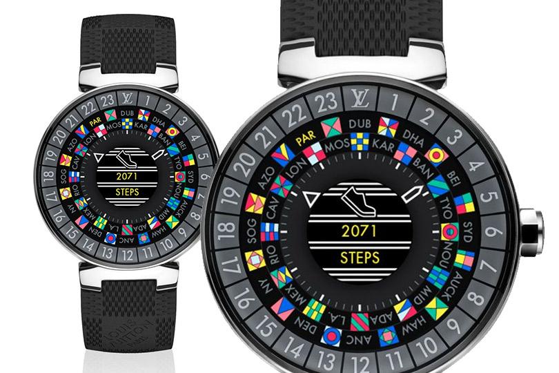 «Умные» часы отLouis Vuitton для тех, кто живет внескольких часовых поясах