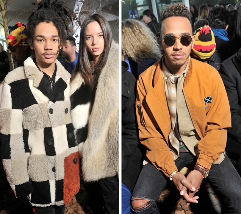 Men in Style:хроники парижского стиля. Люка Саббат. Льюис Хэмилтон