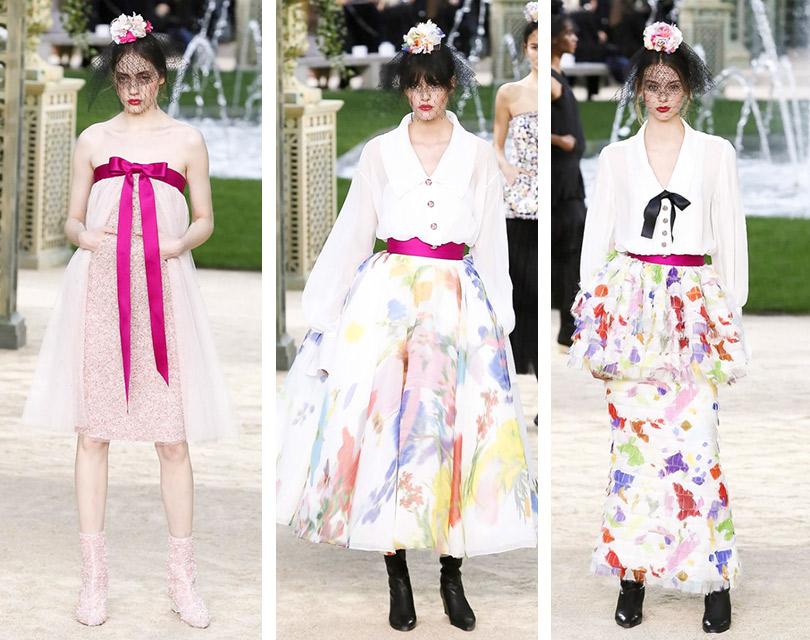 Ясадовником родился: Карл Лагерфельд пригласил гостей шоу Chanel Couture втрадиционный французский парк