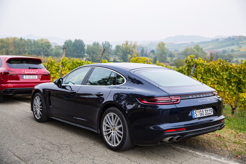 Cars with Jan Coomans: driving the new Porsche Panamera across the Swiss Alps