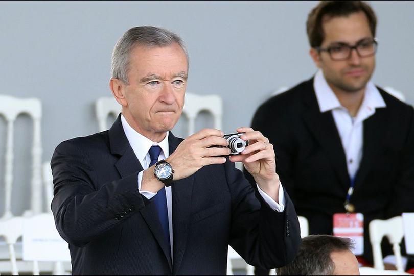 Самые богатые мужчины и их часы. Бернар Арно и Dior