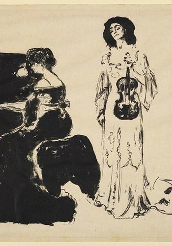 Эдвард Мунк. Скрипичный концерт.1903