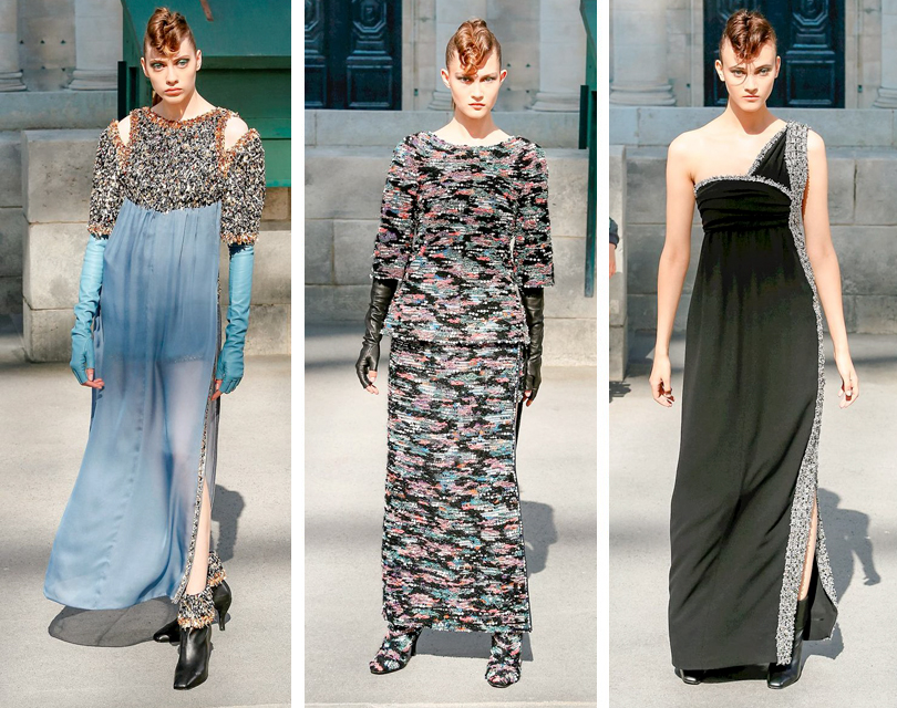 Карл Лагерфельд пригласил гостей Chanel Couture напрогулку поМонмартру