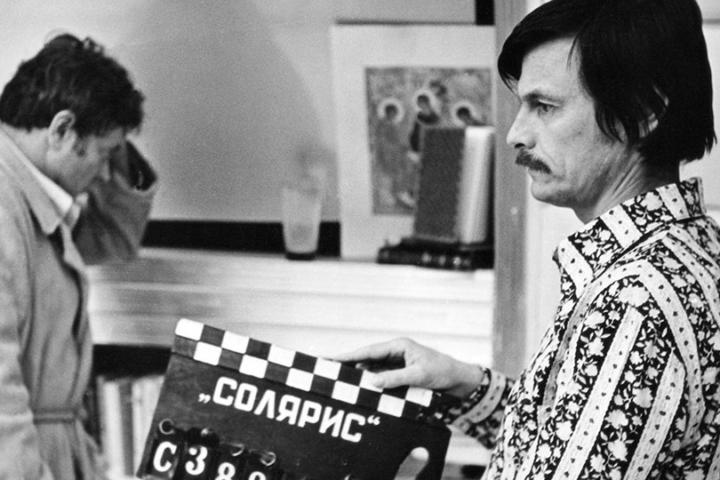 Кадр сосъемок «Соляриса» Андрея Тарковского