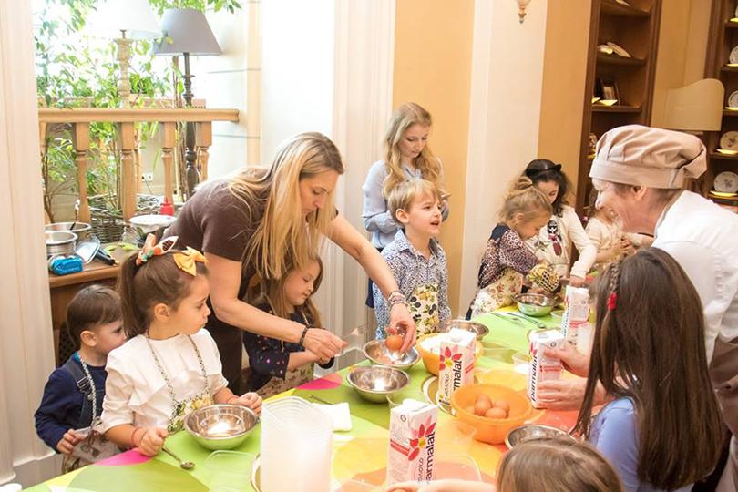 Пища для ума: чем занять детей вмосковских ресторанах. Buono