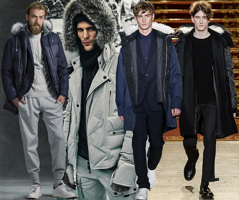 Men inStyle: утепляемся совкусом. Какую верхнюю одежду носить вноябре? Brunello Cucinelli, Belstaff, Rag &Bone, Pringle ofScotland, осень-зима 2016/17