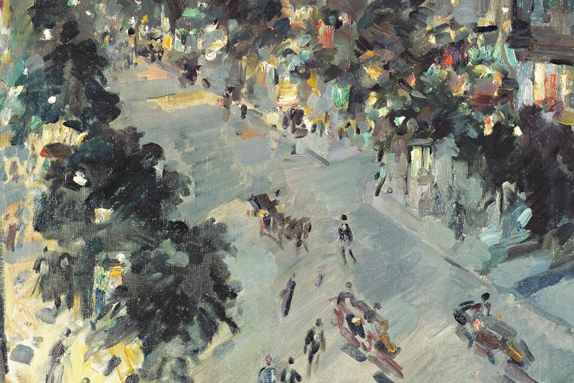 Константин Коровин. Париж.1912